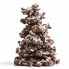 Sapin de Noël amandes cassis chocolat Au Régal Breton