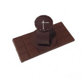 Montre en chocolat