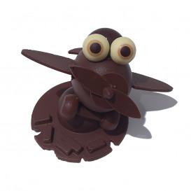 Avion en chocolat