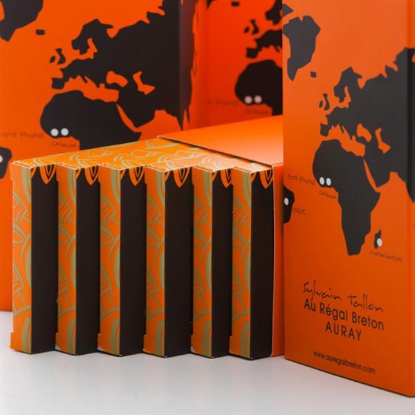 Coffret Les Classiques Tablettes de chocolat Au Régal Breton