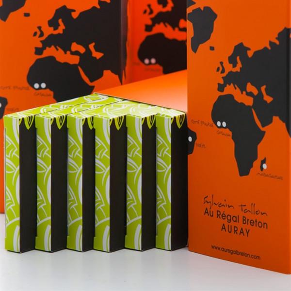 Coffret Les Gourmandes Tablettes de chocolat Au Régal Breton