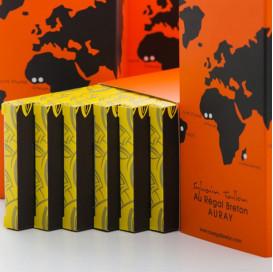 Coffret Les Parfumées tablettes de chocolat Au Régal Breton