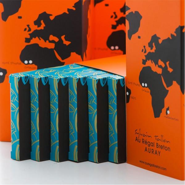 Coffret Plantation tablettes de chocolat Au Régal Breton