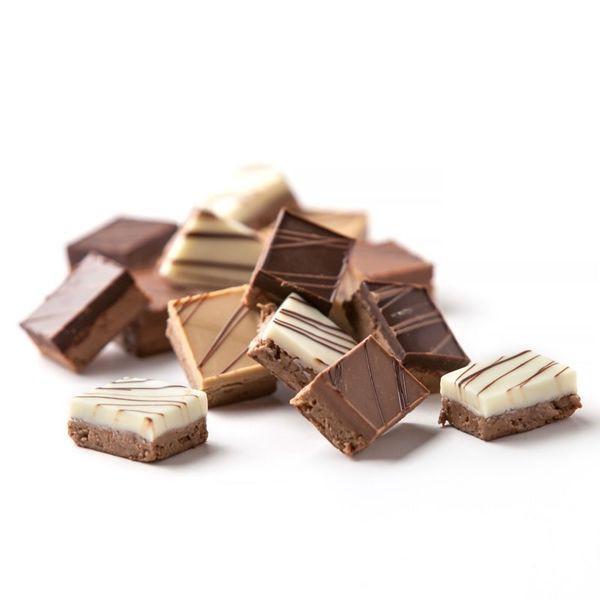 Croquants praliné feuilletine chocolat Au Régal Breton